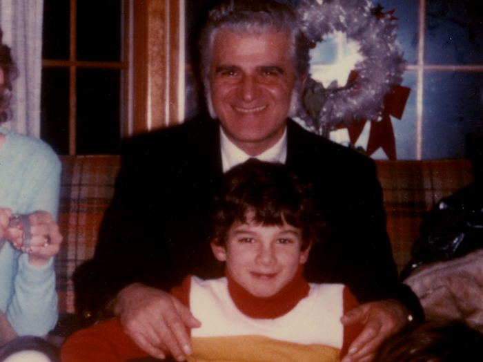 Arthur Zampella with Richard Zampella